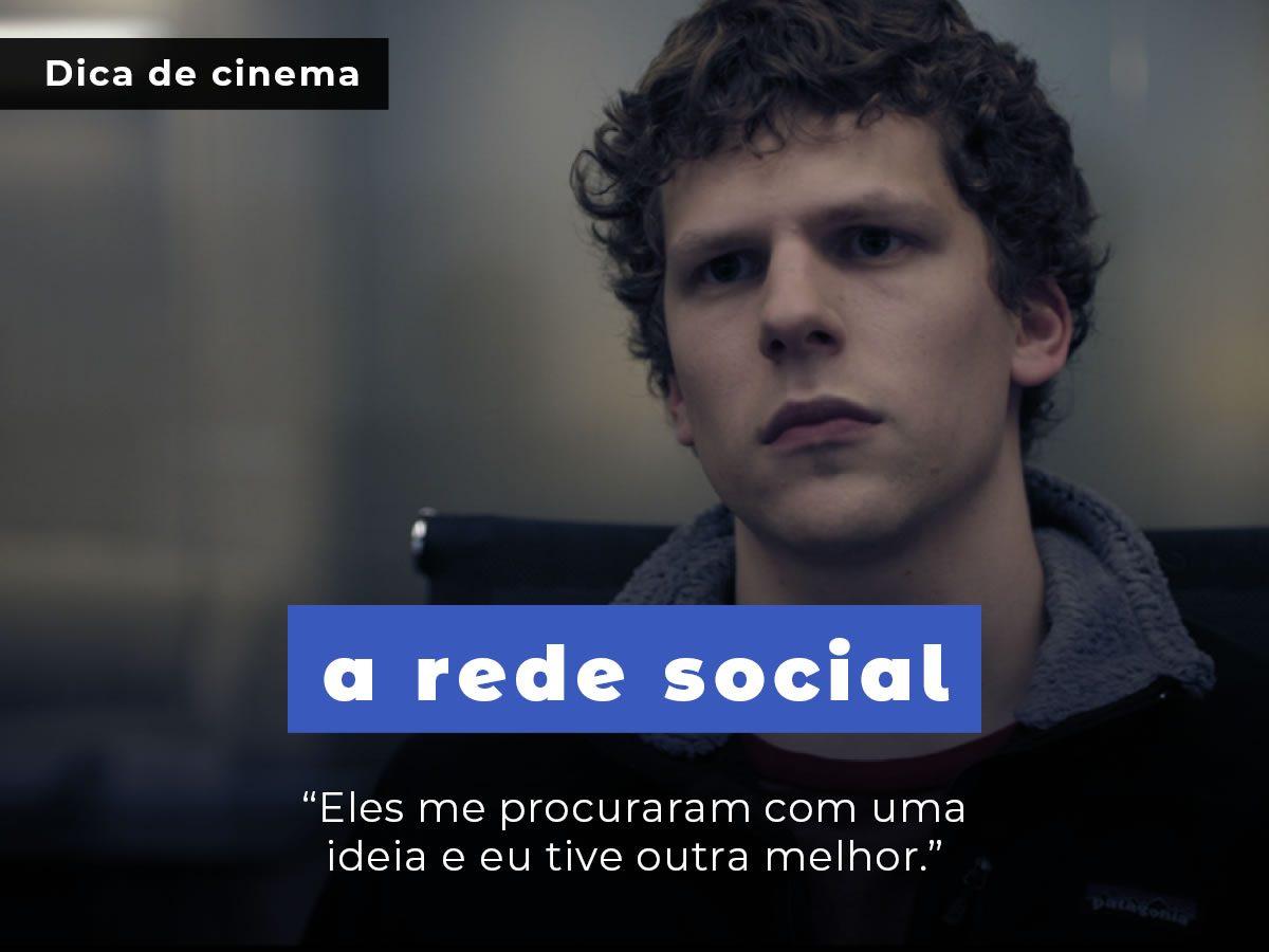 """""""A Rede Social""""- A Personificação do Cinema Moderno"""